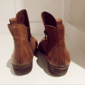 Lucky Brand Shoes - Lucky Brand Cognac Brown Booties